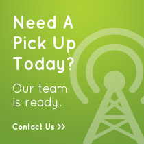 Visit our contact page to schedule a pick up today.